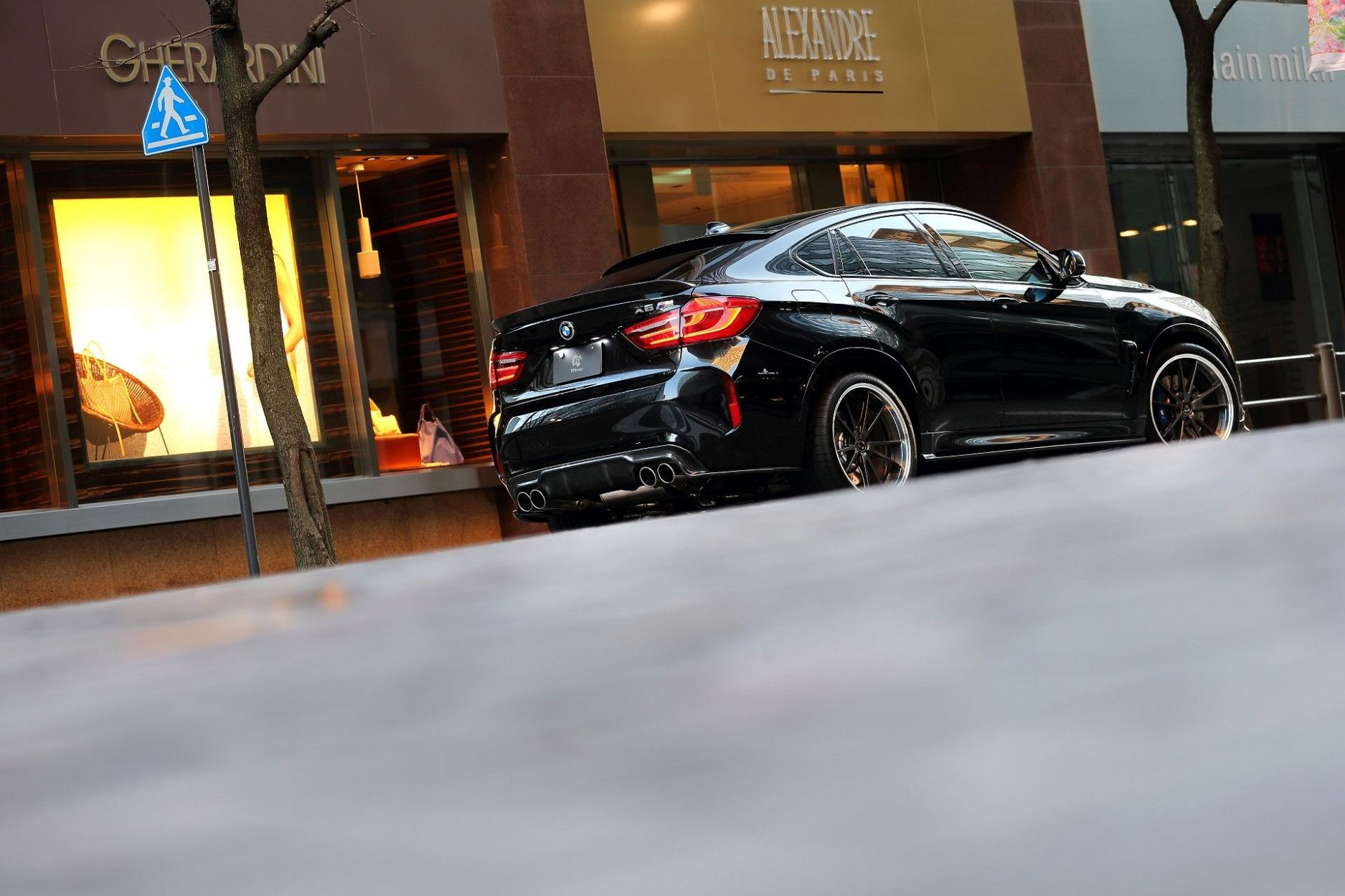 3DDesign Dachspoiler für BMW F86 X6M und F16 X6 mit M-Paket
