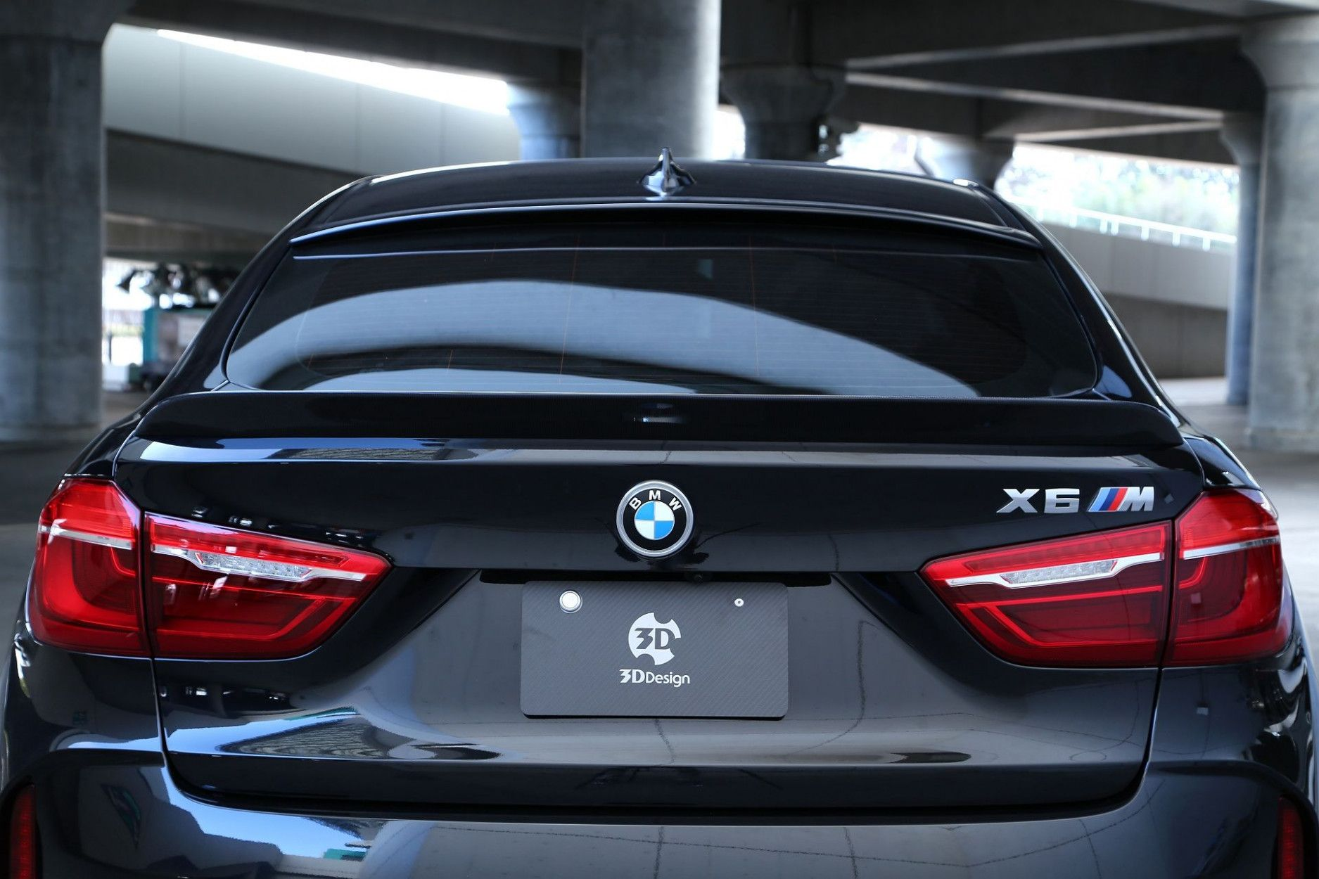 3DDesign Carbon Spoiler für BMW F86 X6M und F16 X6 mit M-Paket