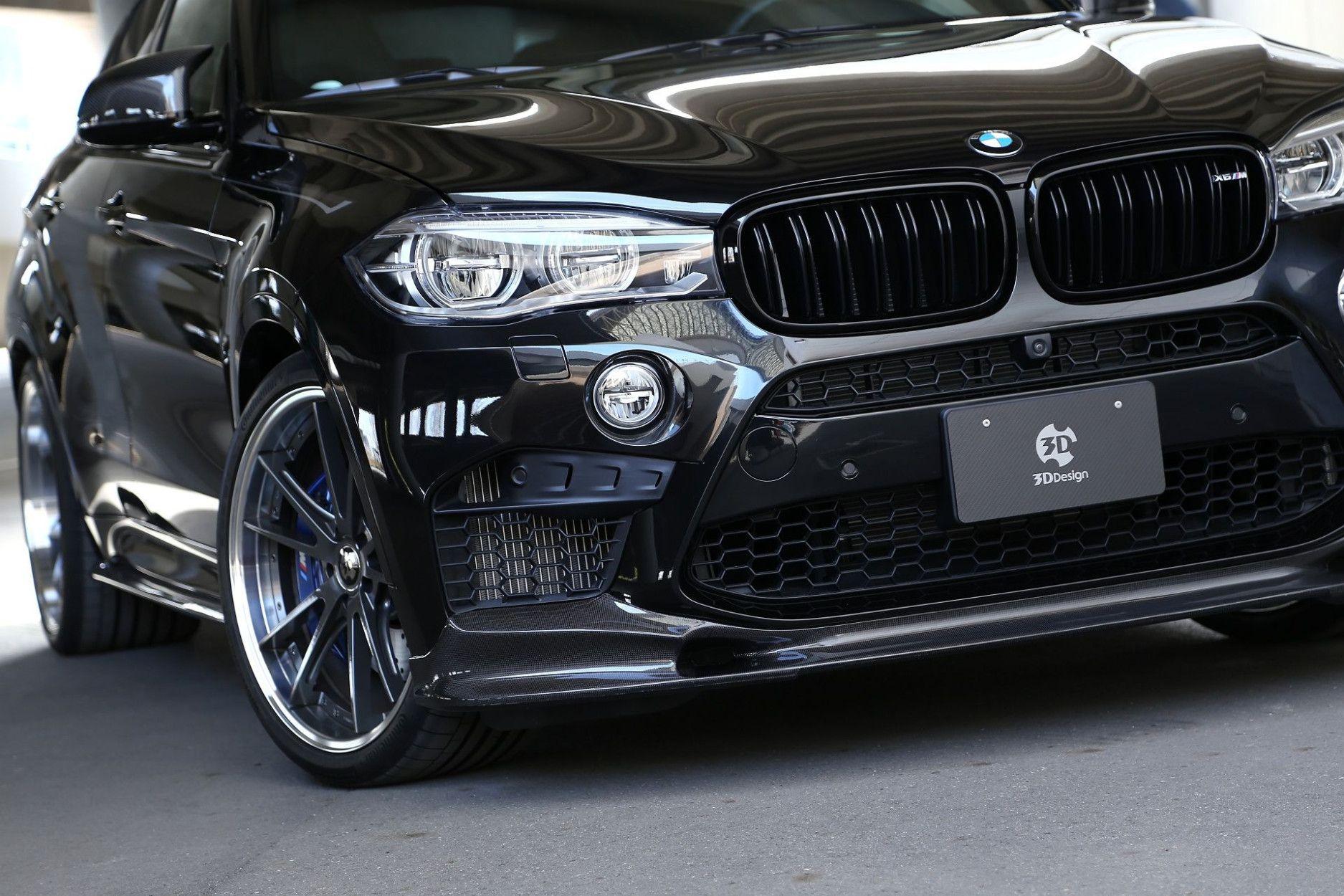 3DDesign Carbon Frontlippe für BMW F86 X6M