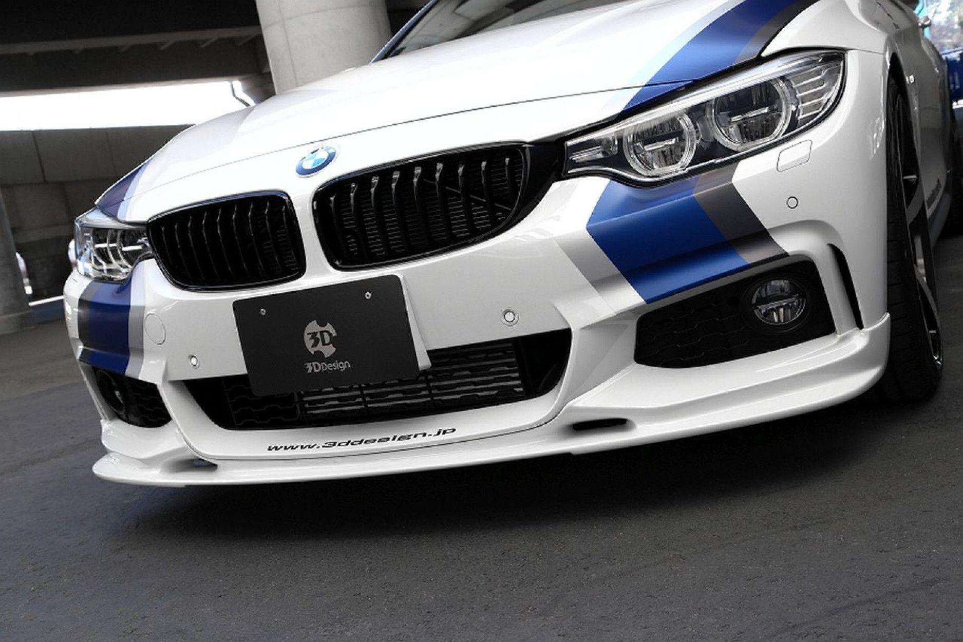 3DDesign Frontlippe für BMW 4er F32 F36 mit M-Paket