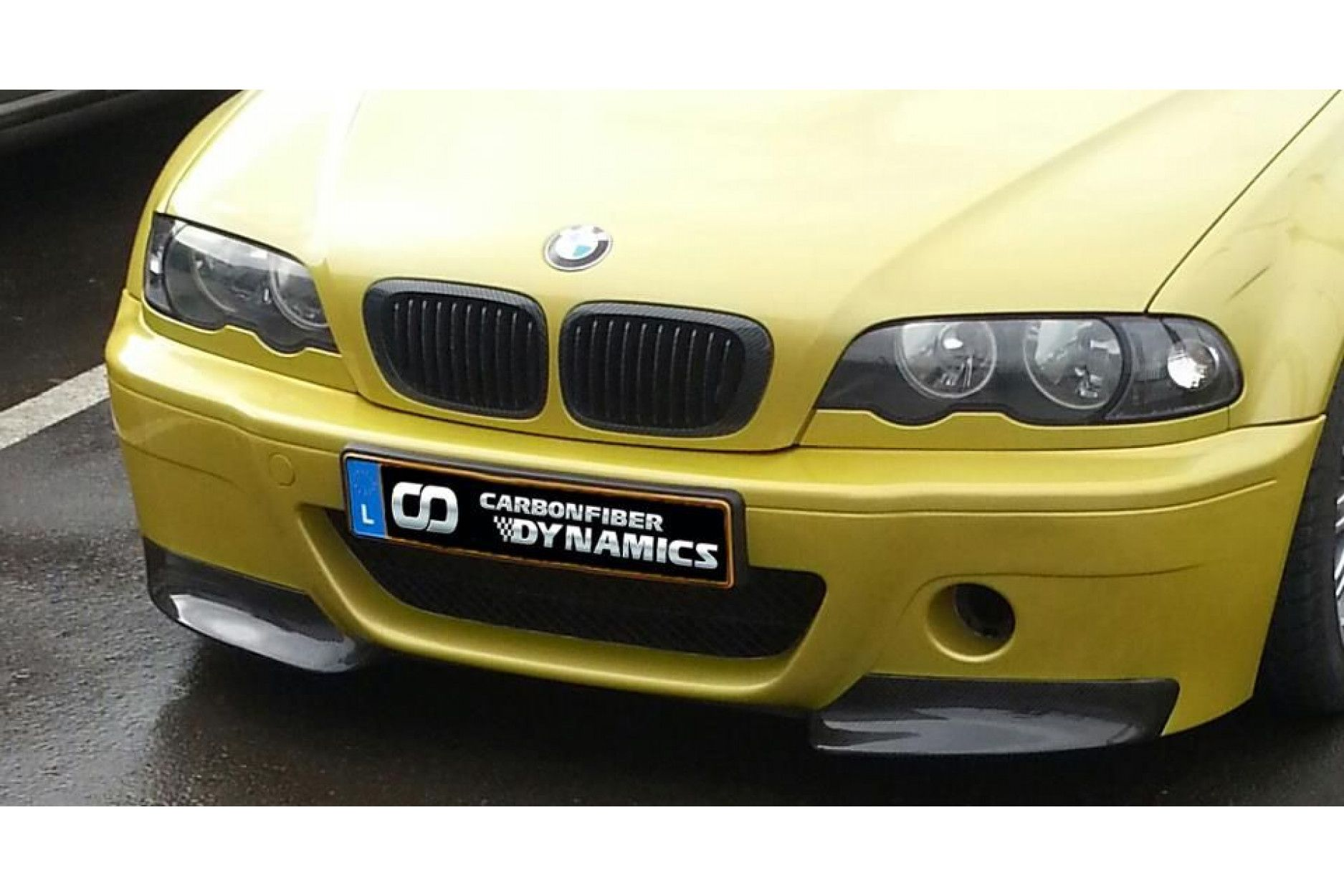 Scope Carbon Frontsplitter für BMW E46 M3 original CSL Frontschürze