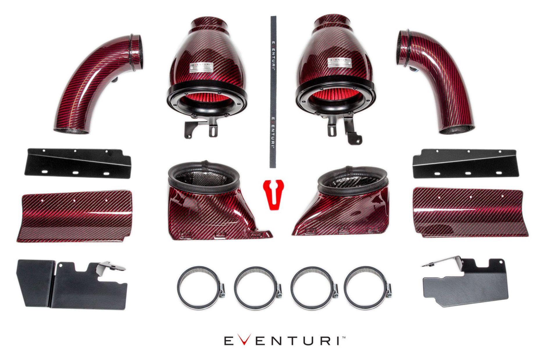 Eventuri Carbon Kevlar Ansaugsystem für Audi B8 RS4 RS5