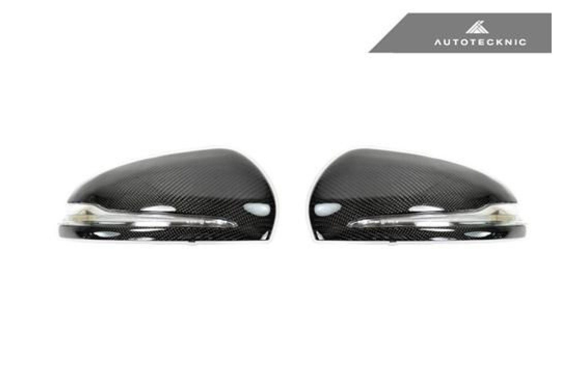 AutoTecknic Carbon Ersatz-Spiegelkappen für Mercedes-Benz W205 /W222