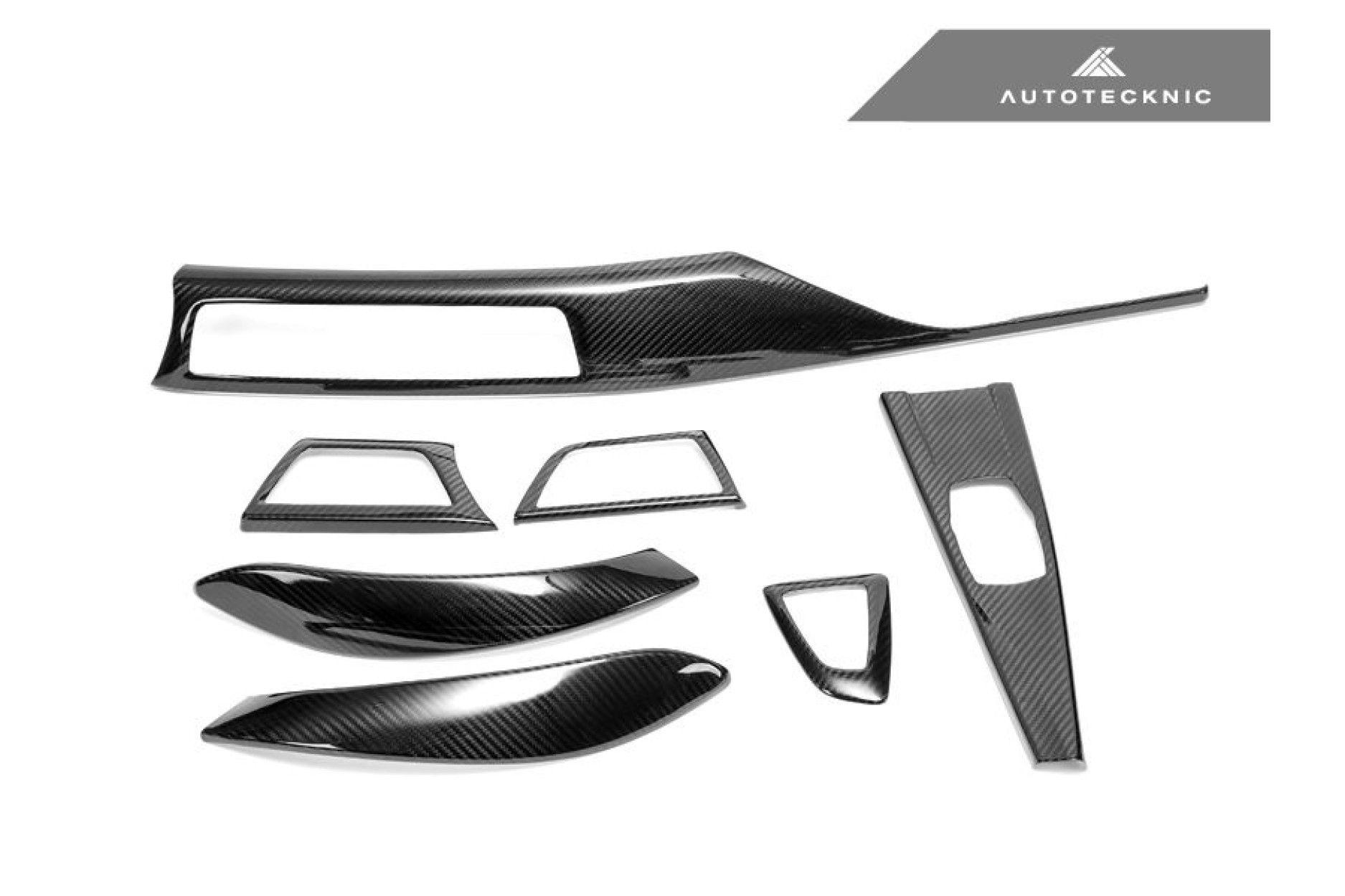 AutoTecknic Carbon Interieurleisten - F32 / F33 Coupe 2X2 Gewebe