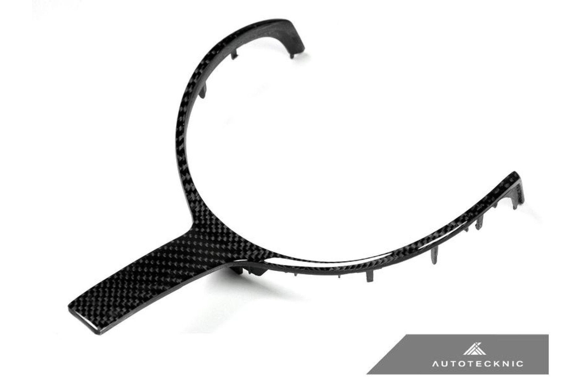 AutoTecknic Carbon M-Sport Lenkrad-Dekorblende - F30 & F31 M-Sport / F10 M5 LCI / F12 M6 / F15 X5 M-Sport