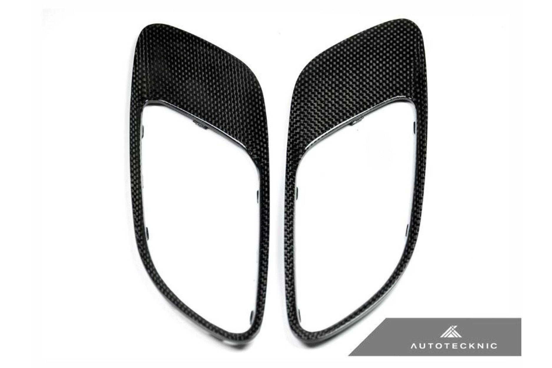 AutoTecknic Carbon Motorhauben Lufteinlässe für E9x M3