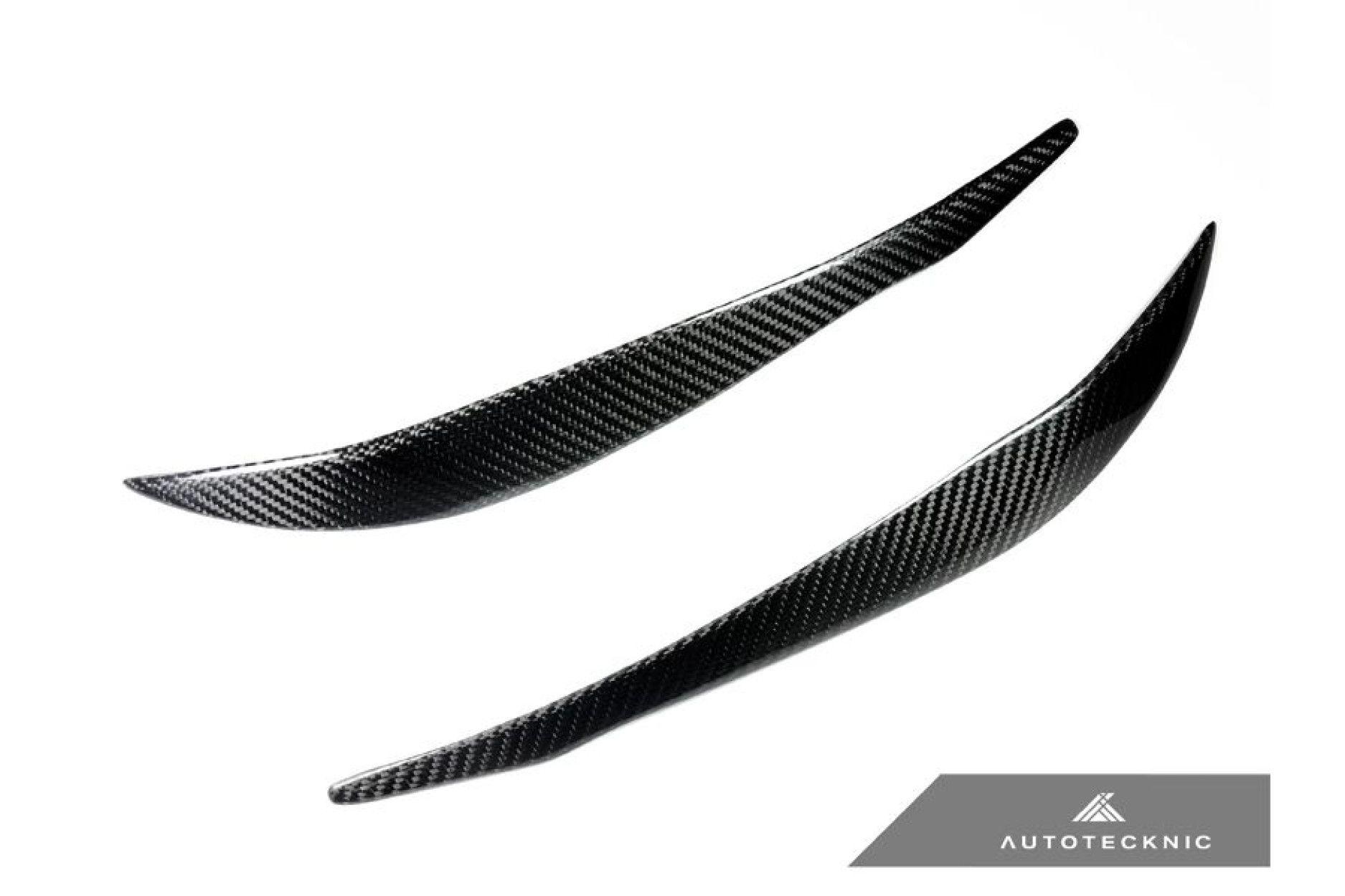 AutoTecknic Carbon-Scheinwerferblenden - F30 3er Limousine