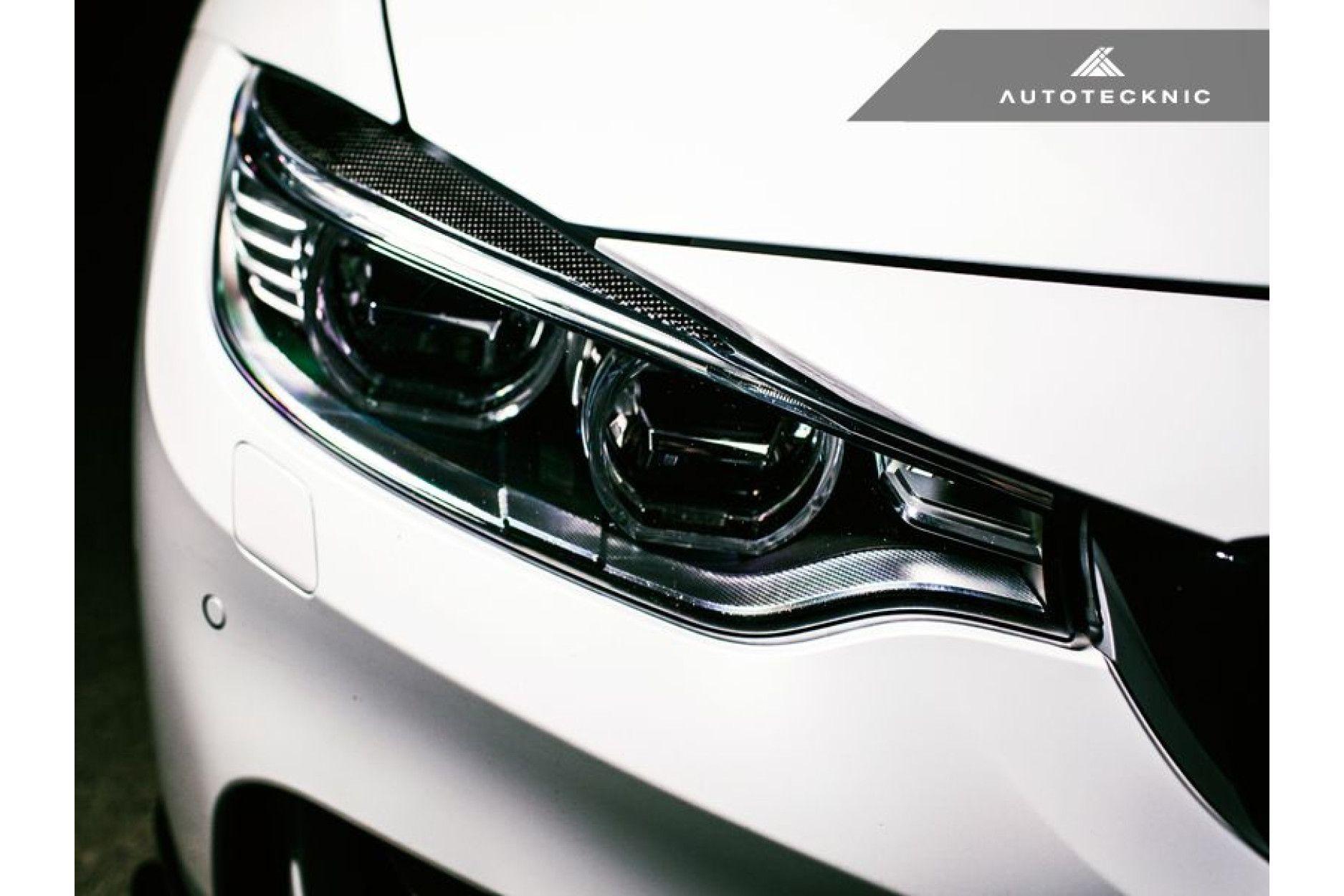 AutoTecknic Carbon-Scheinwerferblenden - F32 4-Serie | F80 M3 | F82 M4