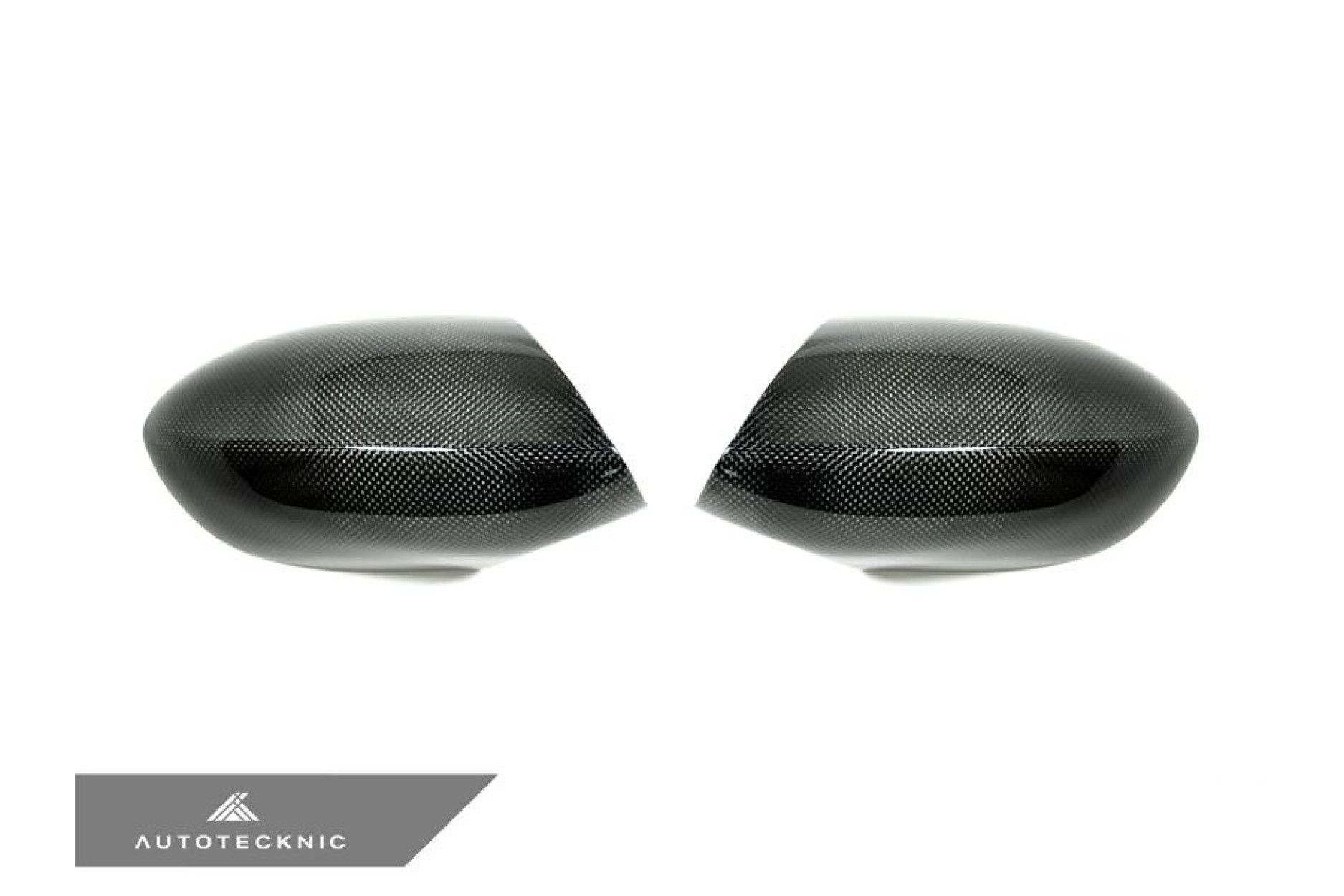 AutoTecknic Carbon Spiegelkappen Austausch - E90 / E92 / E93 und E82 M3 1M (2 lbs)