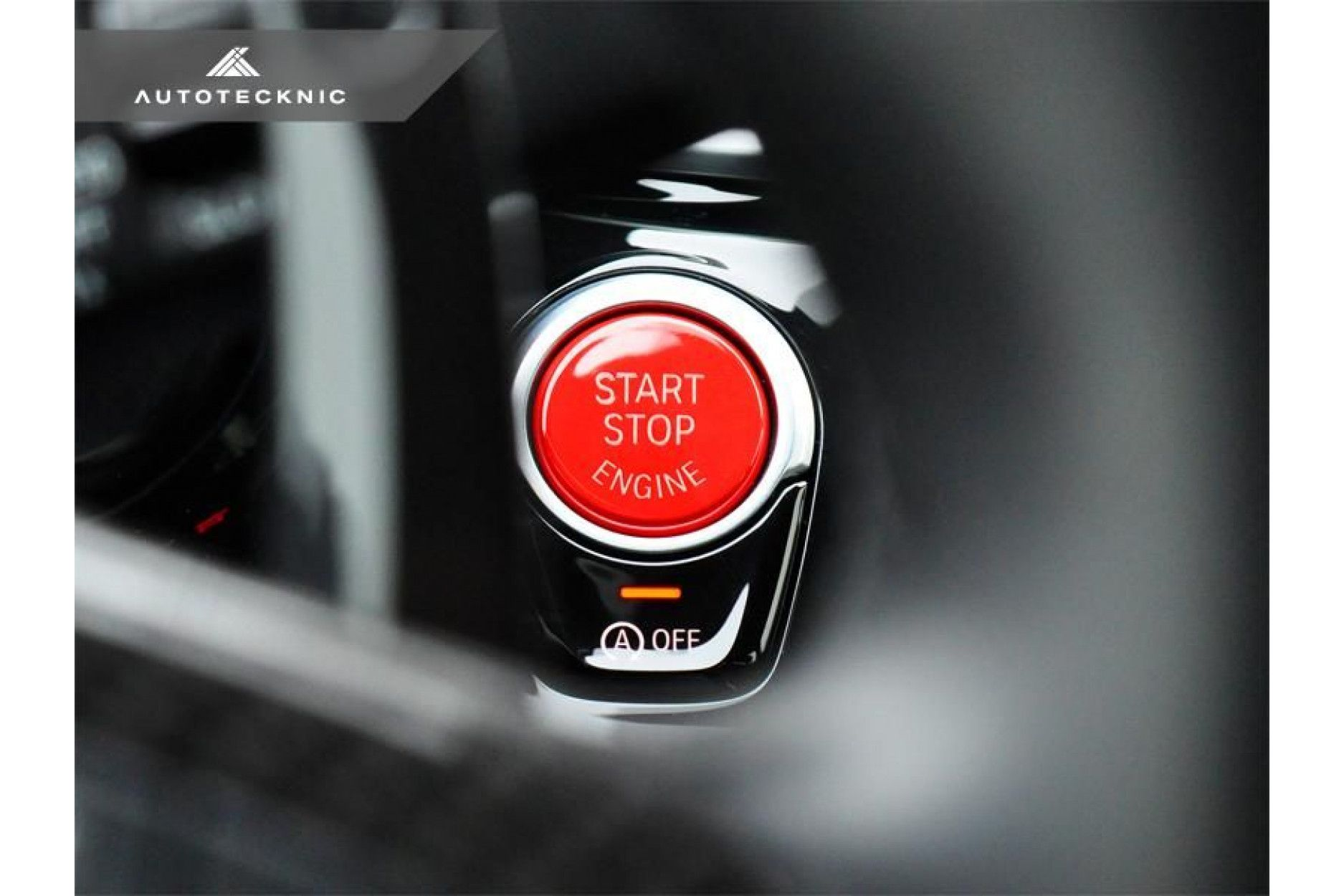 AutoTecknic roter Startknopf für BMW G01 X3 | G02 X4