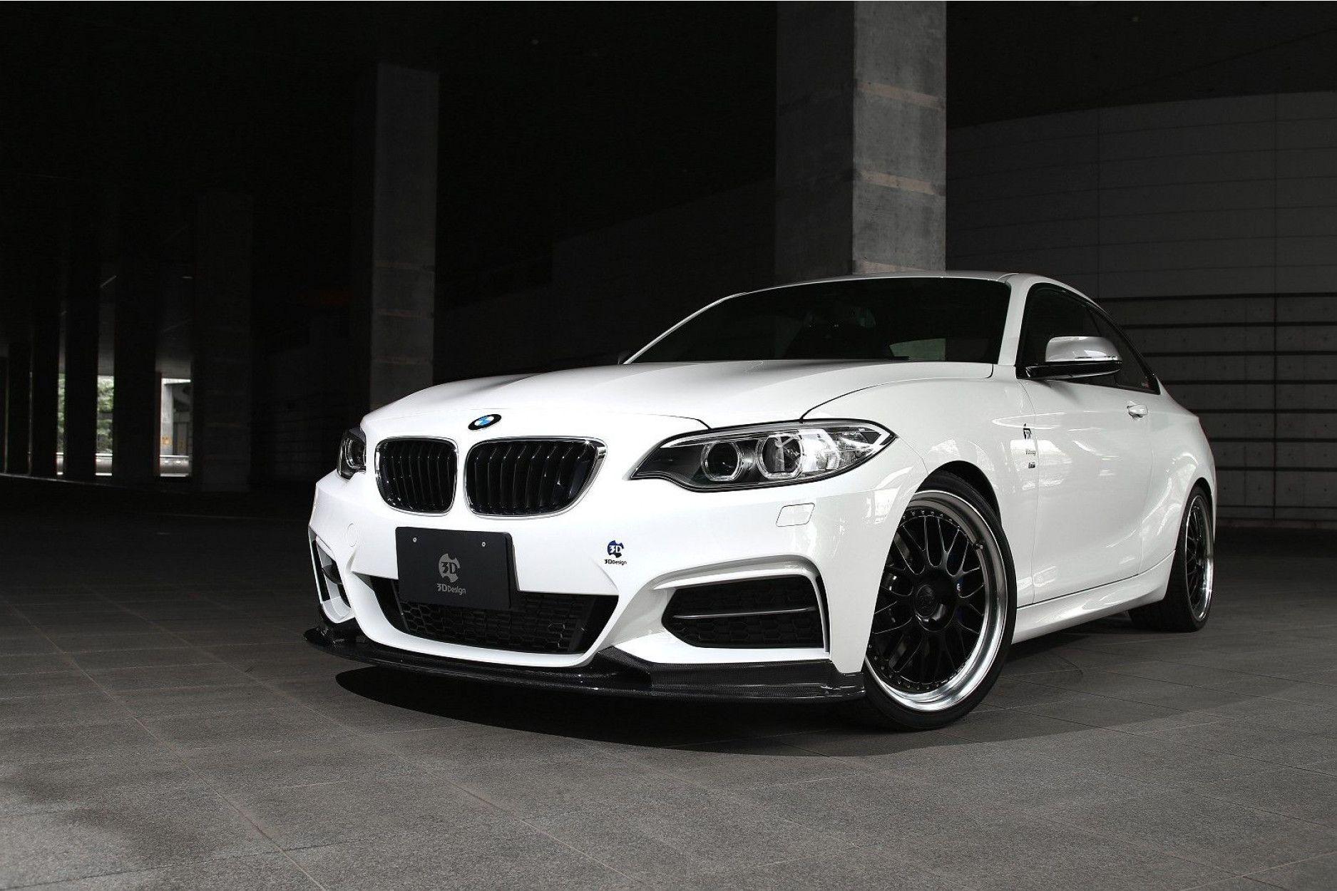 3DDesign Carbon Frontlippe für BMW 2er F22 mit M-Paket