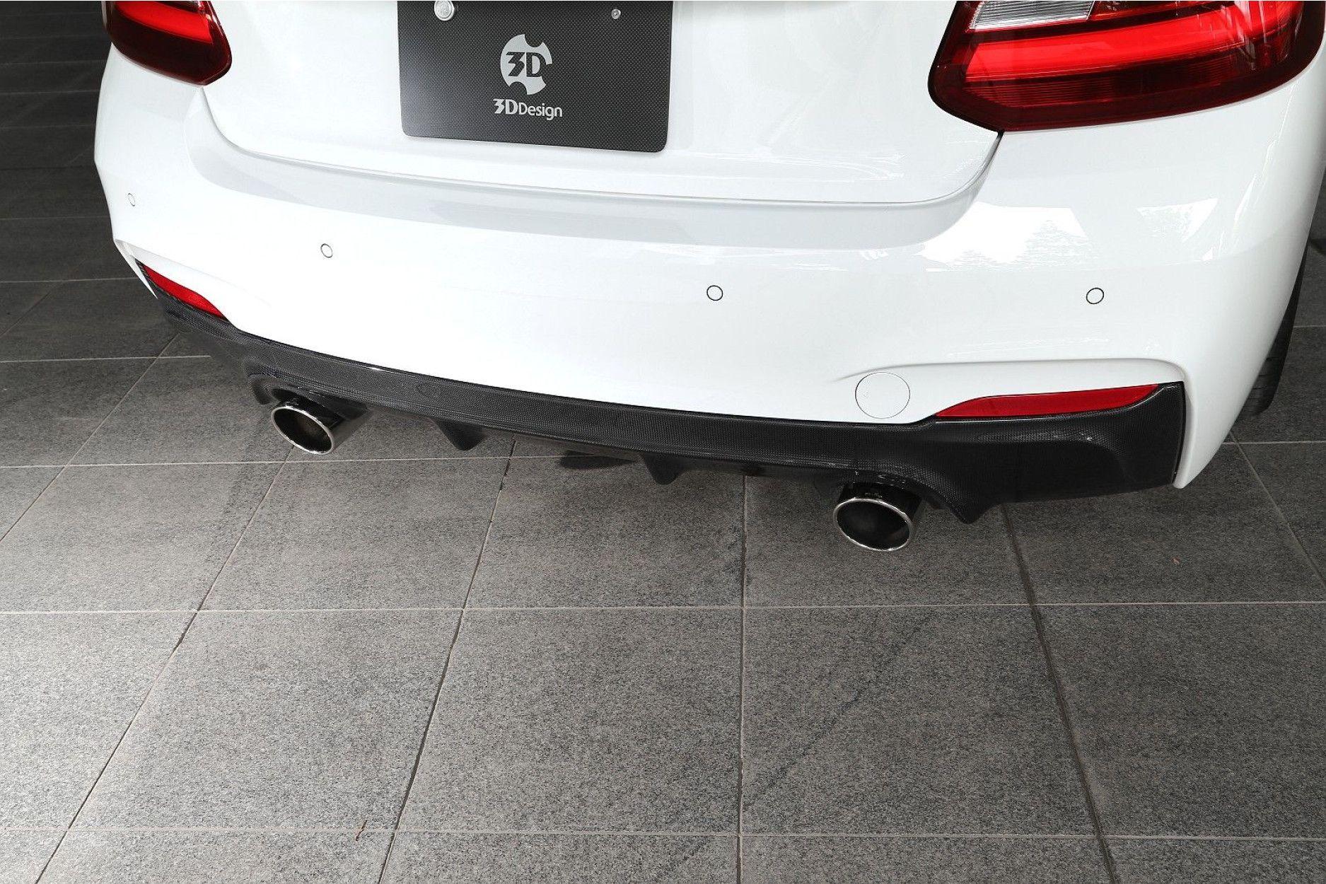 3DDesign Carbon Diffusor für BMW 2er F22 mit M-Paket