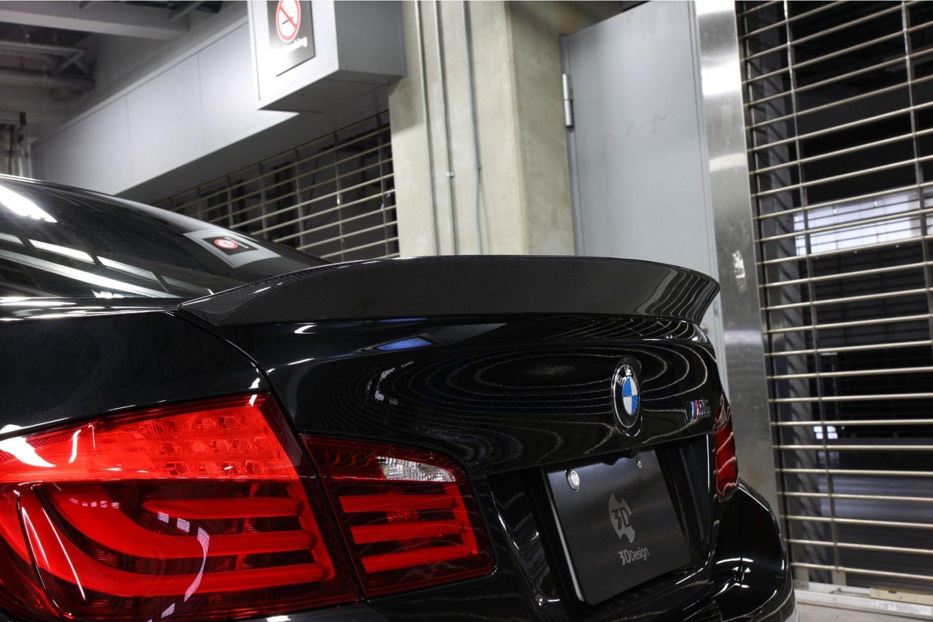 3DDesign Carbon Heck- Spoiler für BMW 5er F10