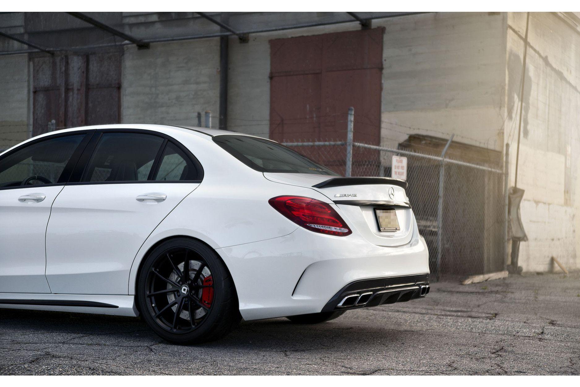 Boca Carbon Heckspoiler für Mercedes C63S W205 Coupe Edition 1 Big Style