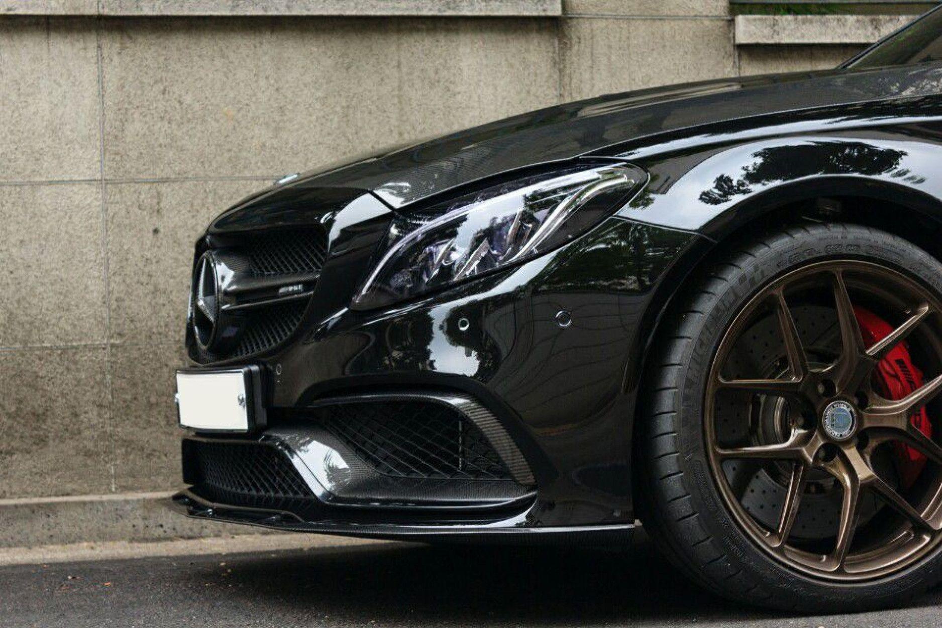 Boca Carbon Frontlippe für Mercedes W205 S205 C63 - ähnlich Edition 1
