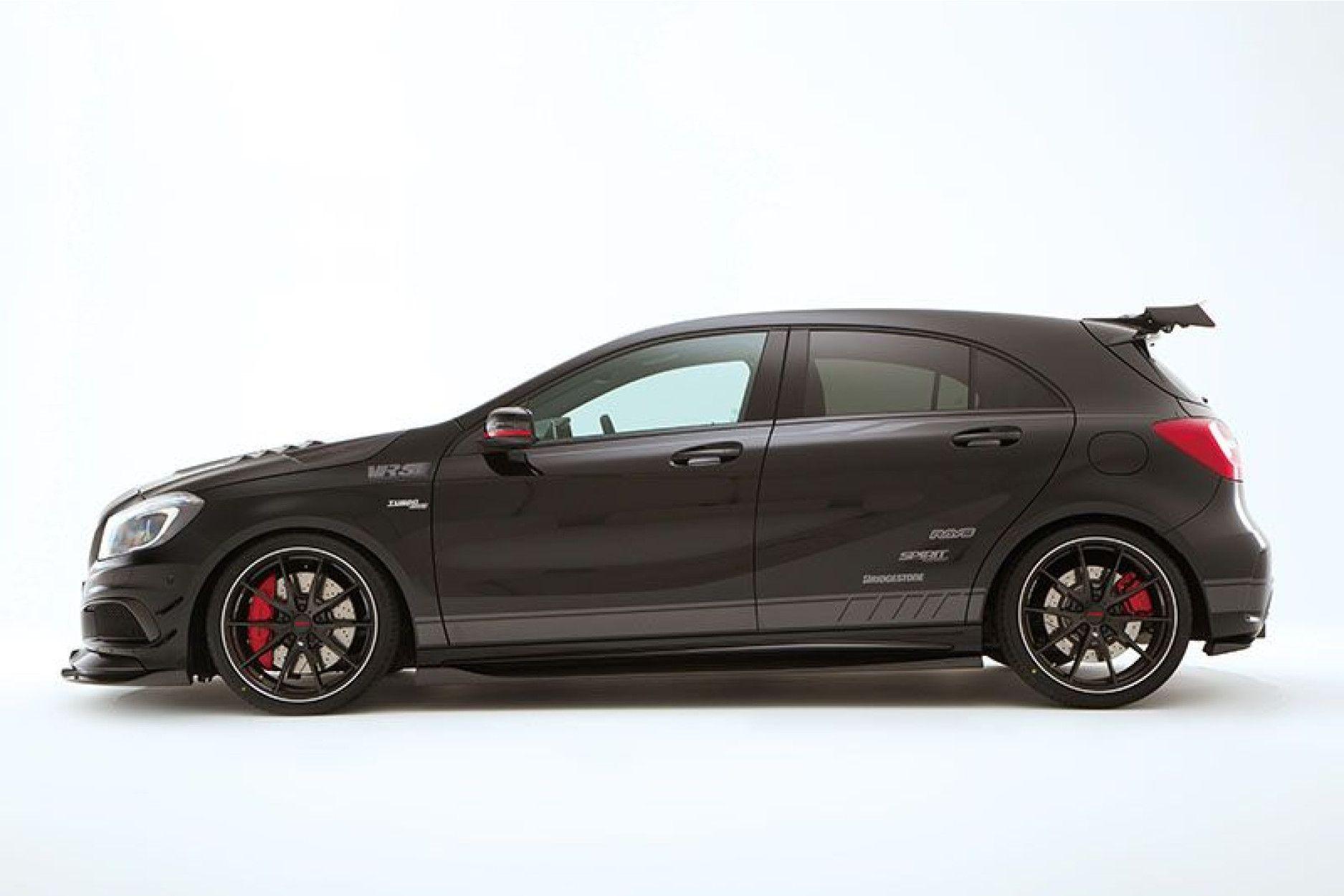 Varis Carbon Seitenschweller für Mercedes Benz W176 A45 AMG