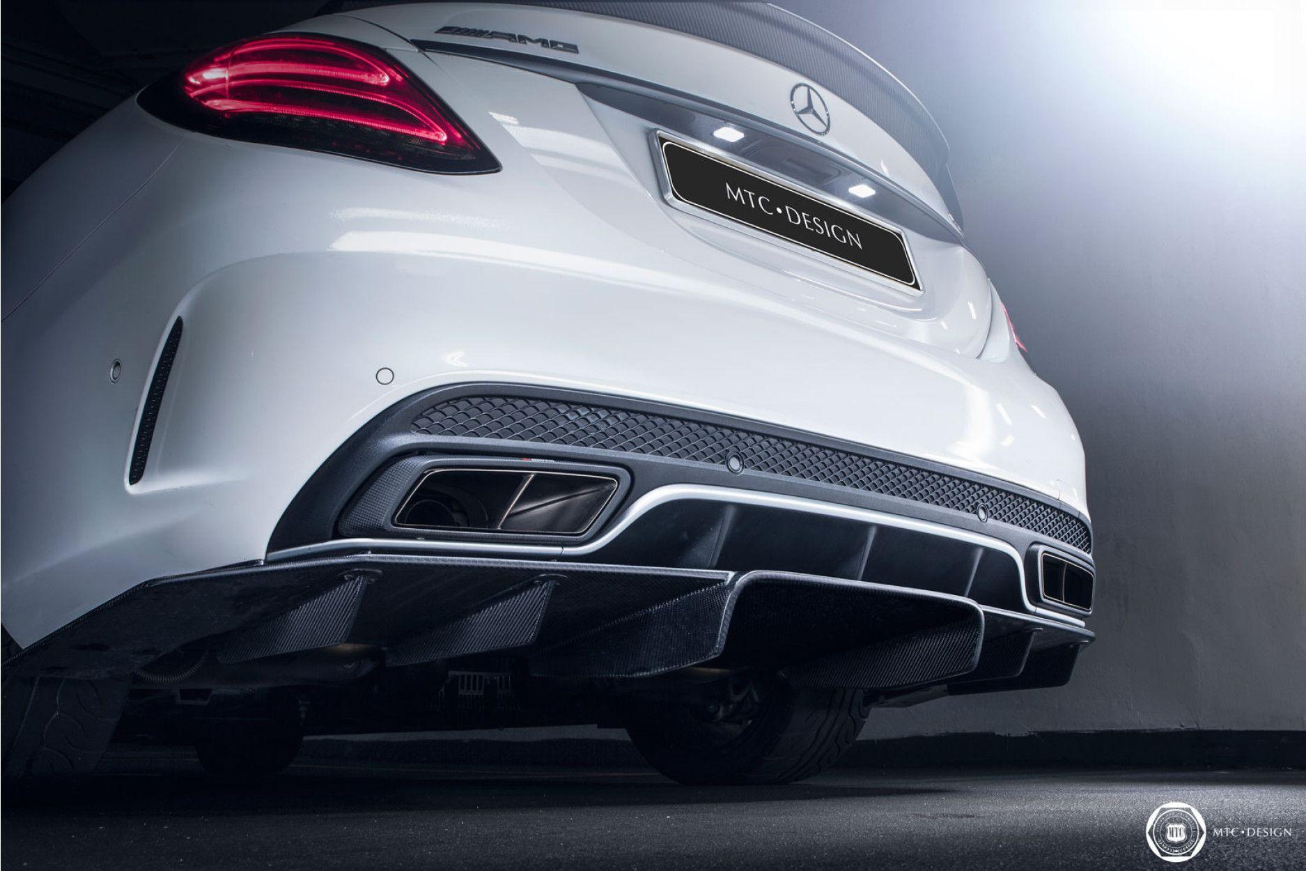 MTC Carbon Diffusor für Mercedes C63 AMG W205 S205