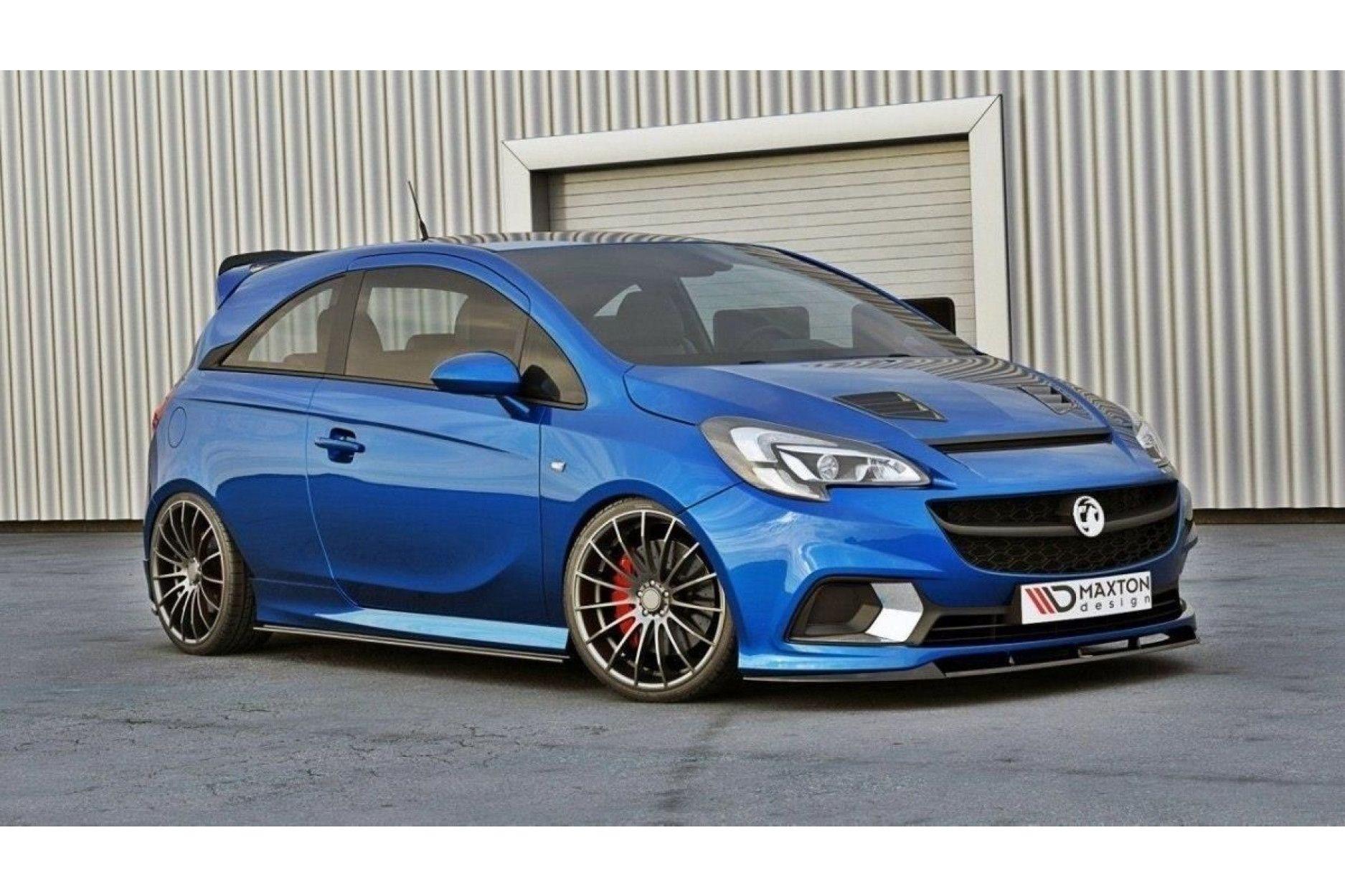 Maxton Design Abs Frontlippe Fur Opel Corsa E Mk5 Opc Opc Line