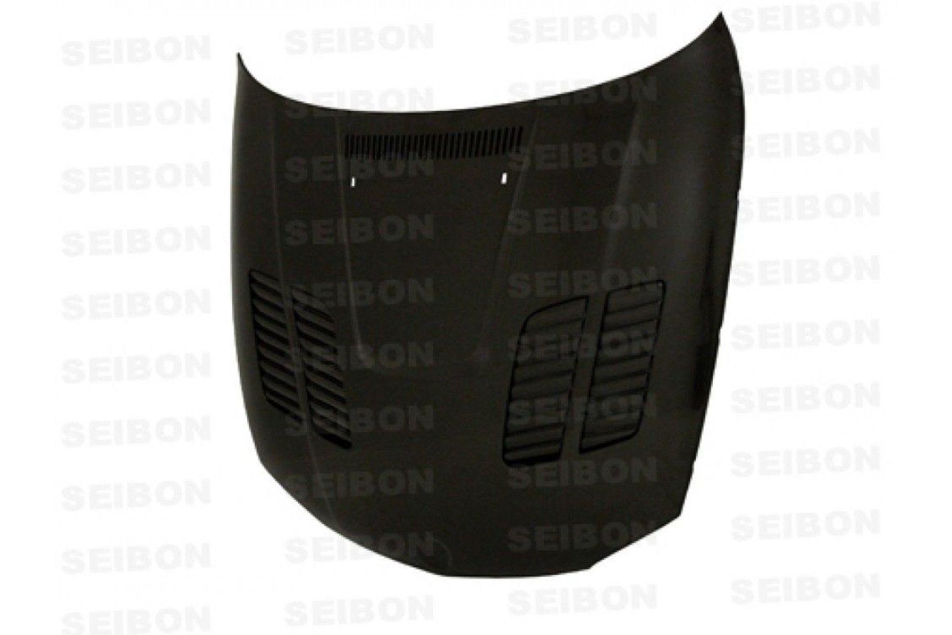 Seibon Carbon Motorhaube für BMW 1er E81|E82|E87|E88 und 1M Coupé 2008 - 2012 GTR-Style