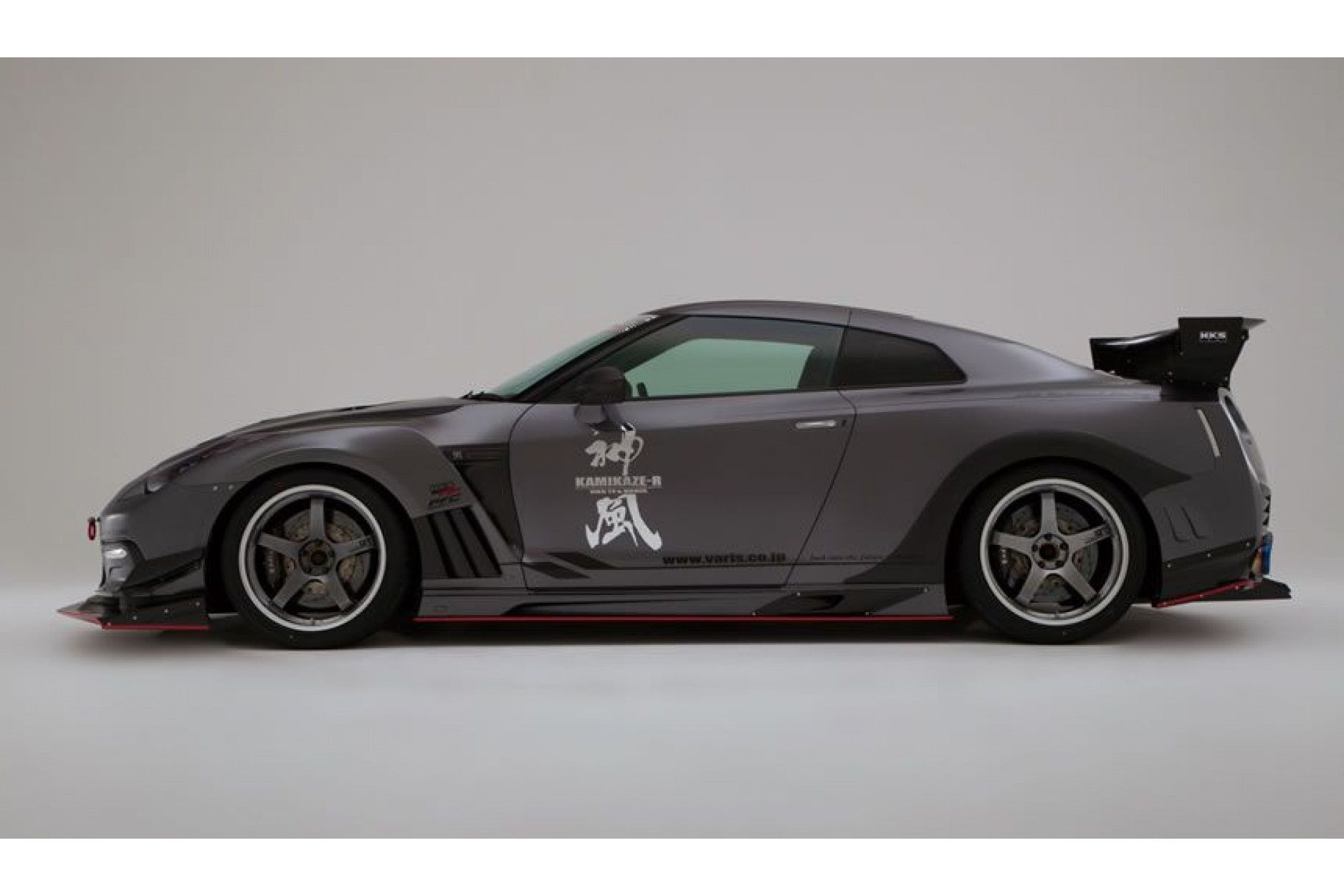 Varis Heck Kotflügel Kamikaze für Nissan R35 GT-R (Carbon)