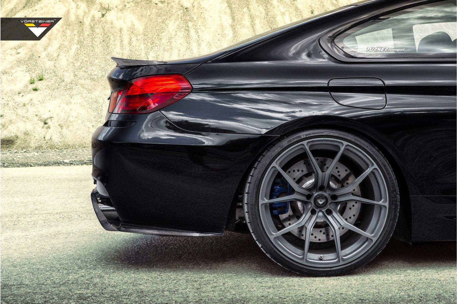 Vorsteiner Carbon Heckspoiler für BMW F12 M6