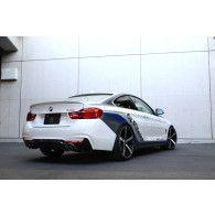 3DDesign Carbon Diffusor für BMW 4er F32 F36 mit M-Paket mit Duplex AGA (435i)