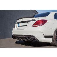 Boca Carbon Diffusor Race für Mercedes W205 S205 C63 AMG