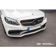 Boca Carbon Frontschürzen Einsatz für Mercedes W205 C205 S205 C63 - ähnlich Edition 1