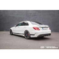 Boca Carbon Diffusor für Mercedes W205 S205 C63 - ähnlich Edition 1