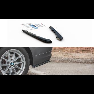 Maxtondesign Diffusor Erweiterung li/re für BMW 3er E90|E91 Facelift schwarz strukturiert