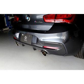 3DDesign Carbon Diffusor (2 Finnen) für BMW F20 LCI M-Paket
