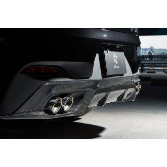 3DDesign Carbon Diffusor für BMW F39 X2 (Quad Tip)
