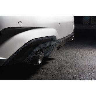 3DDesign Carbon Diffusor für BMW G20 mit M-Paket für AGA mit 2 Endrohren