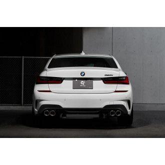 3DDesign Carbon Diffusor Quad-Tip für BMW G20/G21 M340i und M-Paket 320i 330i 340i