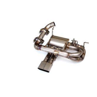 3DDesign Carbon Diffusor inklusive Abgasanlage Titan-Endschalldämpfer für BMW i8