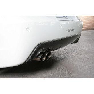 3DDesign Carbon Diffusor für BMW 5er E60 mit M-Paket (Single AGA)