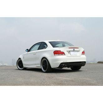 3DDesign Carbon Diffusor für BMW 1er E82 mit M-Paket für Duplex AGA