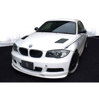 3DDesign Frontlippe für BMW 1er E82 mit M-Paket