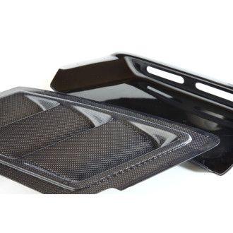3DDesign Carbon Motorhauben Lufteinlässe für 1er BMW E82