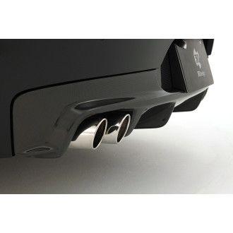 3DDesign Carbon Diffusor für BMW Z4 E89 mit M-Paket Duplex AGA