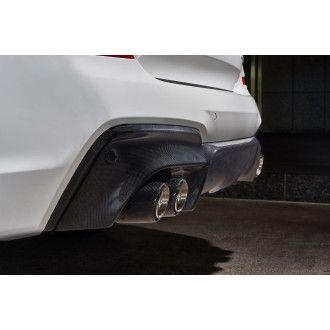 3DDesign Carbon Diffusor für BMW G01 X3 M40d Quad Tip