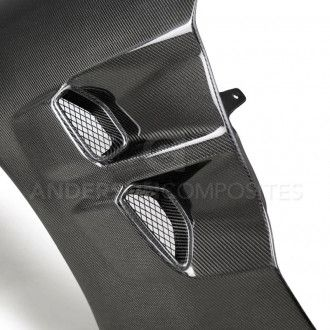 Anderson Composites Carbon Kotflügel für Chevrolet Corvette C6 2005-2013 Style TYPE-ZR1