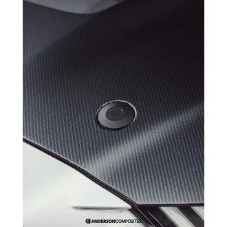 Anderson Composites Carbon Motorhaube für Ford Shelby Gt500 2020 Style GT500