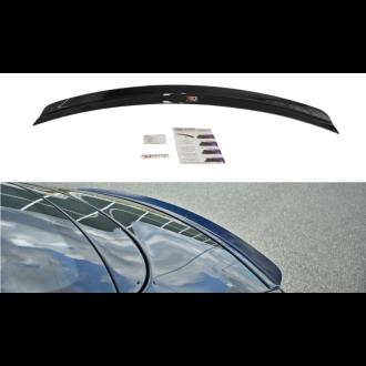 Maxton Design Spoiler für Bentley Continental GT schwarz strukturiert unbearbeitet