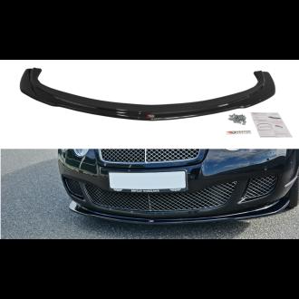 Maxton Design Frontlippe für Bentley Continental GT schwarz hochglanz