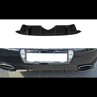 Maxton Design Diffusor für Bentley Continental GT schwarz hochglanz