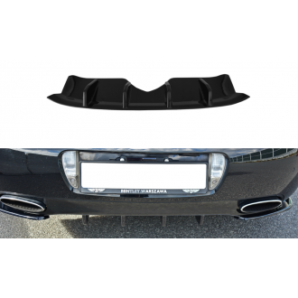 Maxton Design Diffusor für Bentley Continental GT schwarz strukturiert unbearbeitet