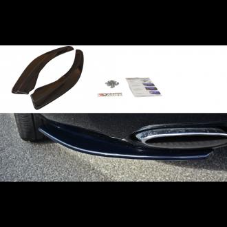 Maxton Design Diffusor-Erweiterungen für Bentley Continental GT schwarz strukturiert unbearbeitet