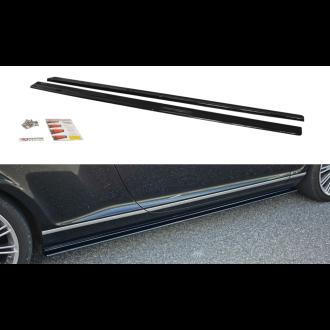 Maxton Design Seitenschweller für Bentley Continental GT schwarz hochglanz