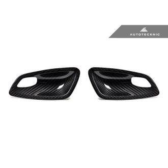 Autotecknic Trockencarbon Innentürgriff-Verkleidung für BMW 3er E92|E93 M3